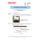 Sharp MX-M950, MX-MM1100 (serv.man96) Technical Bulletin