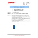 Sharp MX-M950, MX-MM1100 (serv.man97) Technical Bulletin