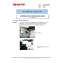 Sharp MX-M950, MX-MM1100 (serv.man98) Technical Bulletin