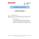 Sharp MX-M950, MX-MM1100 (serv.man99) Technical Bulletin