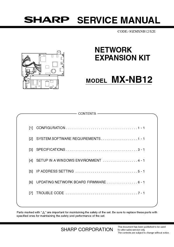 sharp mx nb12 service manual free download revised service manual rh servicemanuals us sharp ar 5623n service manual sharp ar 5623n service manual