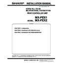 Sharp MX-PEX1 (serv.man2) Service Manual