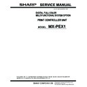 Sharp MX-PEX1 (serv.man3) Service Manual