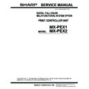 Sharp MX-PEX1 Service Manual