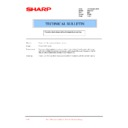 Sharp PG-A10X (serv.man37) Technical Bulletin