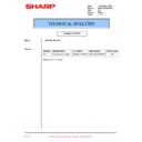 Sharp PG-A10X (serv.man39) Technical Bulletin