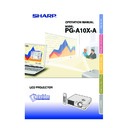Sharp PG-A10XA (serv.man7) User Guide / Operation Manual