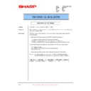 Sharp XG-SV1E (serv.man10) Technical Bulletin