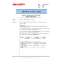 Sharp XG-SV1E (serv.man11) Technical Bulletin