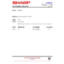 Sharp XG-SV1E (serv.man15) Technical Bulletin
