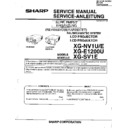 Sharp XG-SV1E (serv.man2) Service Manual