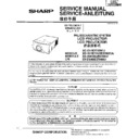 Sharp XG-SV1E (serv.man3) Service Manual