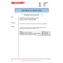 Sharp XG-SV1E (serv.man6) Technical Bulletin