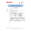 Sharp XG-SV1E (serv.man9) Technical Bulletin