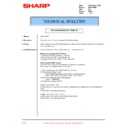 Sharp XG-V10WE (serv.man26) Technical Bulletin