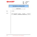 Sharp XG-V10WE (serv.man27) Technical Bulletin