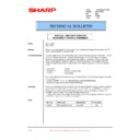 Sharp XG-V10WE (serv.man29) Technical Bulletin