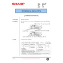 Sharp XG-V10WE (serv.man30) Technical Bulletin