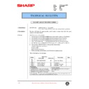 Sharp XG-V10WE (serv.man31) Technical Bulletin