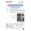 Sharp XG-V10WE (serv.man32) Technical Bulletin