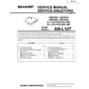 Sharp XG-V10WE (serv.man7) Service Manual