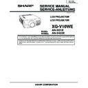 Sharp XG-V10WE (serv.man8) Service Manual