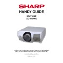 Sharp XG-V10WE Handy Guide