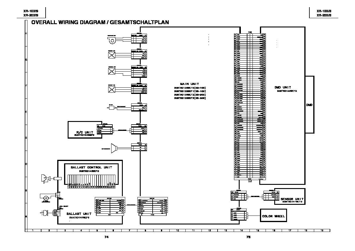 sharp xr-10s  serv man7  service manual