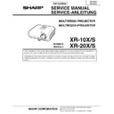 Sharp XR-20S (serv.man3) Service Manual
