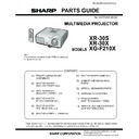 Sharp XR-30X (serv.man11) Parts Guide