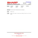 Sharp XR-30X (serv.man14) Technical Bulletin