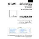 Sharp 15JF-25H Service Manual