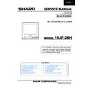 Sharp 15JF-26H (serv.man15) Service Manual
