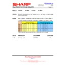 Sharp 28LF-92H (serv.man10) Technical Bulletin