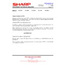 Sharp 28LF-92H (serv.man12) Technical Bulletin