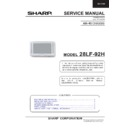 Sharp 28LF-92H Service Manual