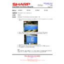 Sharp 28LW-92H (serv.man11) Technical Bulletin