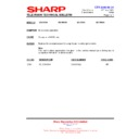 Sharp 28LW-92H (serv.man12) Technical Bulletin