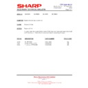 Sharp 28LW-92H (serv.man19) Technical Bulletin