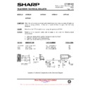 Sharp 37DM-23H (serv.man22) Technical Bulletin