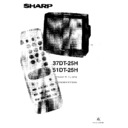 Sharp 37DT-25H (serv.man11) User Guide / Operation Manual