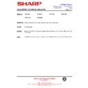 Sharp 37DT-25H (serv.man13) Technical Bulletin