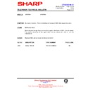 Sharp 37DT-25H (serv.man15) Technical Bulletin