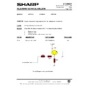 Sharp 37DT-25H (serv.man17) Technical Bulletin