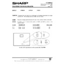 Sharp 37DT-25H (serv.man18) Technical Bulletin