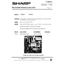 Sharp 37DT-25H (serv.man19) Technical Bulletin