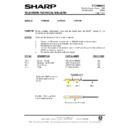Sharp 37DT-25H (serv.man20) Technical Bulletin