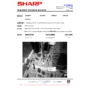 Sharp 37DT-25H (serv.man21) Technical Bulletin
