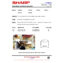 Sharp 37DT-25H (serv.man23) Technical Bulletin