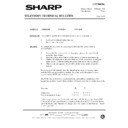 Sharp 37DT-25H (serv.man29) Technical Bulletin